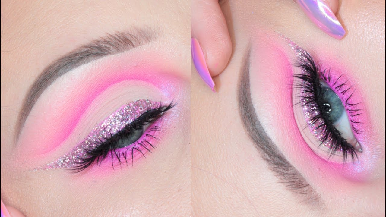 Pink Glitters and Wing