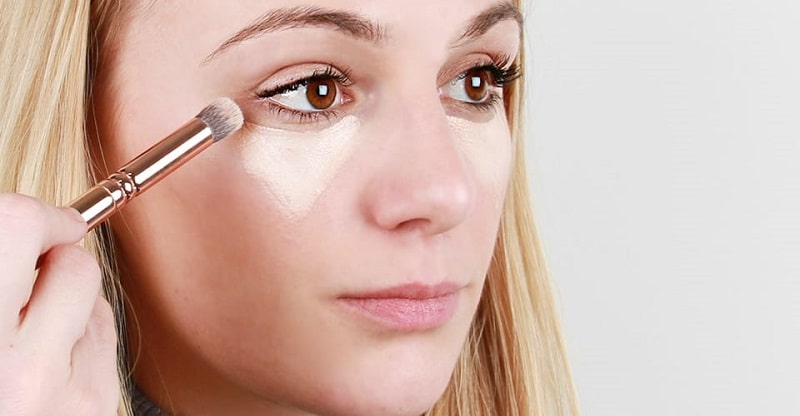 Apply a concealer - makeup for party