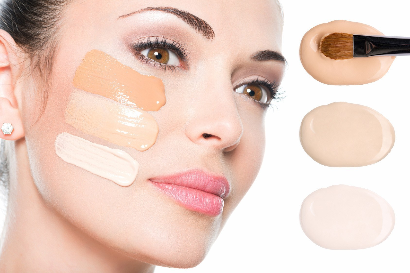 Choose foundation that matches your skin tone exactly