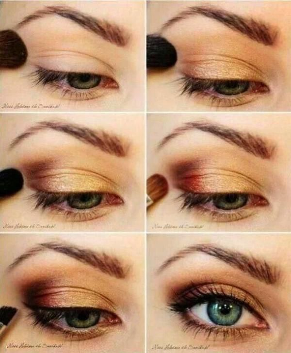 EYE SHADOW FOR ALMOND EYES