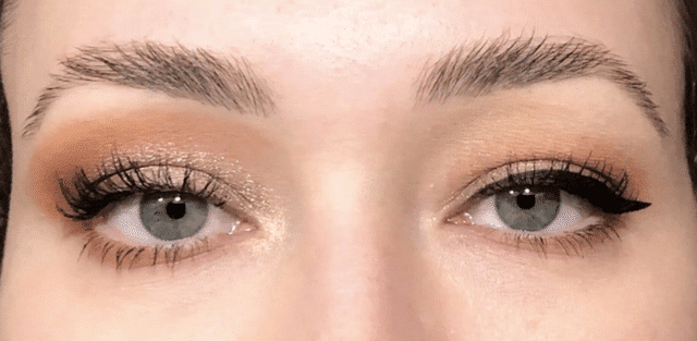 Hooded eyes eye makeup
